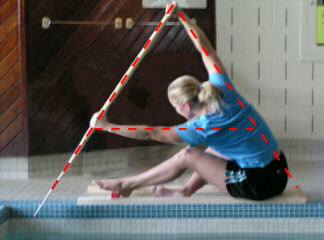 A Frame Ysis During An Off Season Pool Practice Session
