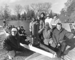 Opening Day, April 8, 1997 - Rotary donates boat, boat is Christened